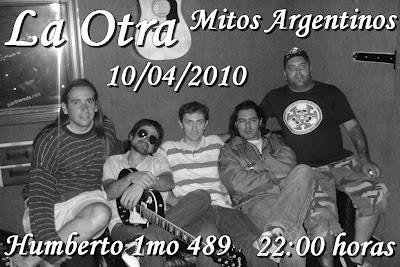 """Buitre y La Otra en """"Mitos Argentinos"""" III Hernan buitre Deheza, javier risso"""