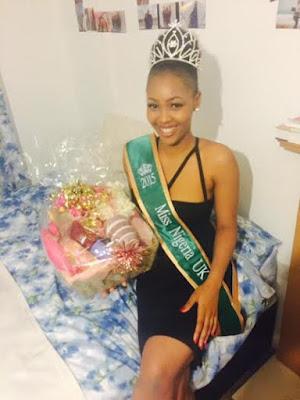 Miss Nigeria uk Jane Ezeanaka, 2015