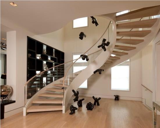 Gambar Tangga Rumah Minimalis Modern