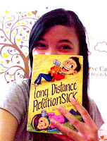 Selfie with Novel Long Distance RelationSick by Hadi Kurniawan