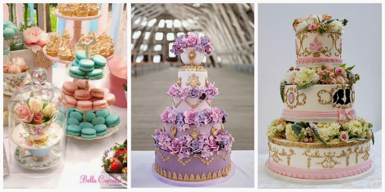 tarta boda macarons boda barroca blog mi boda gratis
