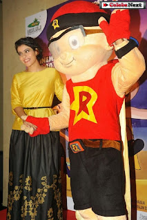Bollywood Actress Kajol at Mighty Raju Rio Calling Promotion  0044