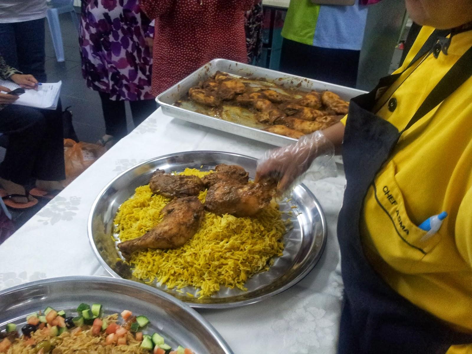Chef Asma Culinary Academy: CLASS NASI ARAB DAN KAMBING