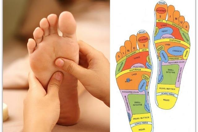 foot reflexalogy techniques