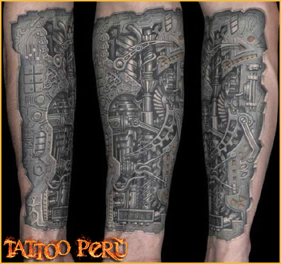 las mejores Fotos de Tatuajes, Diseños de Tatuajes y variedad de Tattoos. También encontrarás Catálogos de Tatuajes y Tribales 01_biomecanico_en_el_antebrazo