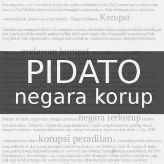 Pidato Tema Korupsi Panduanmu