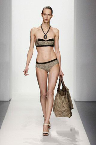 Designer swimwear from the 2012 Bottega Veneta collection