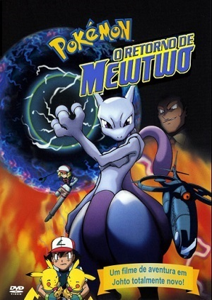 Pokémon - O Retorno de Mewtwo Filmes Torrent Download capa