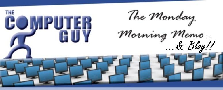 The Monday Morning Memo & Blog
