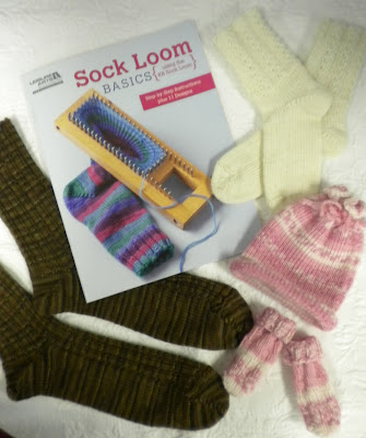 Try combining the KB Sock Loom with the new Sock Loom Basics book from