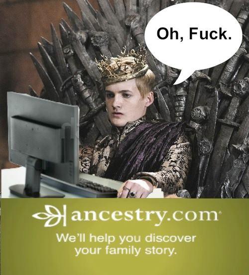 joffrey antepasados - Juego de Tronos en los siete reinos