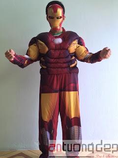 bán trang phục người sắt