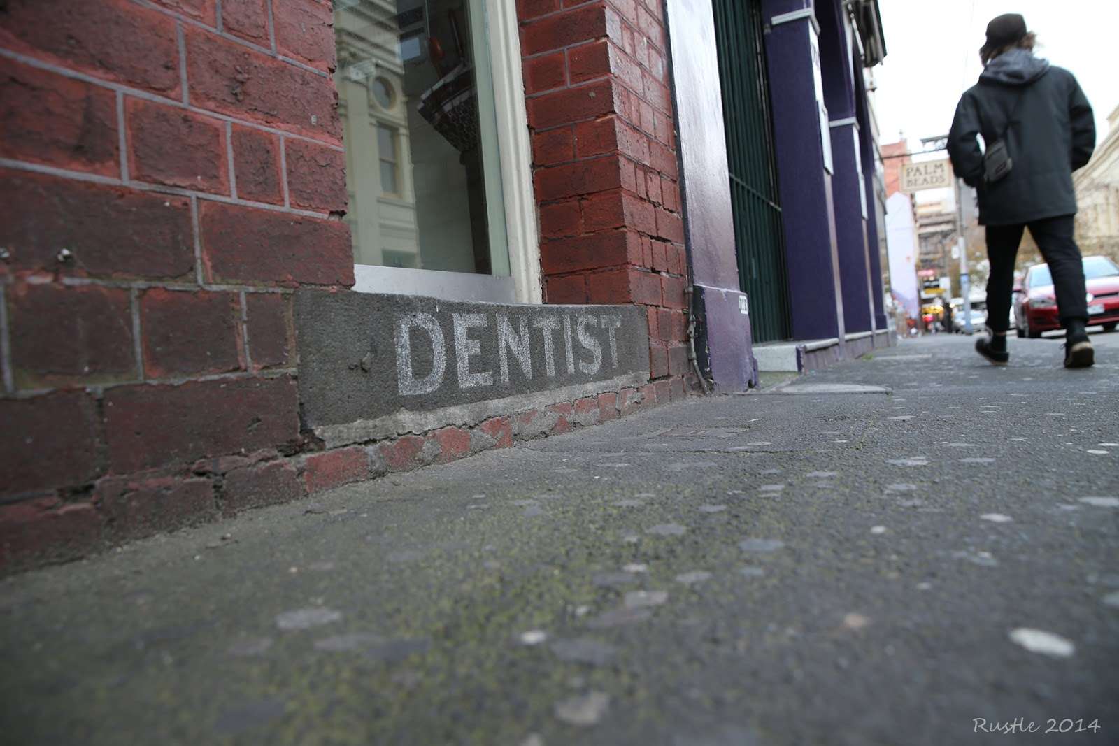 Dentist Ghost Sign