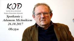 Adam Michnik w Olsztynie