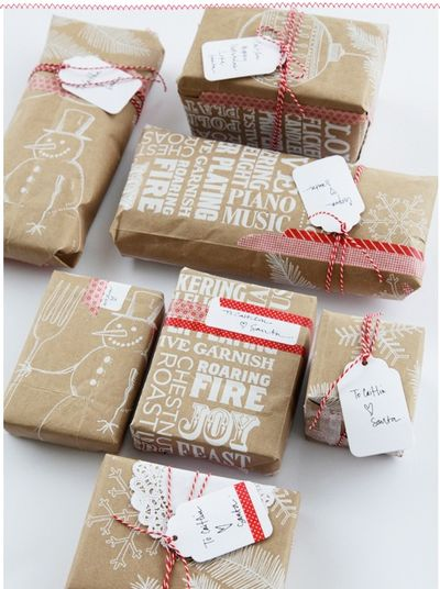 Fireflies and jellybeans 10 easy gift wrap ideas - Faire de jolis paquets cadeaux ...