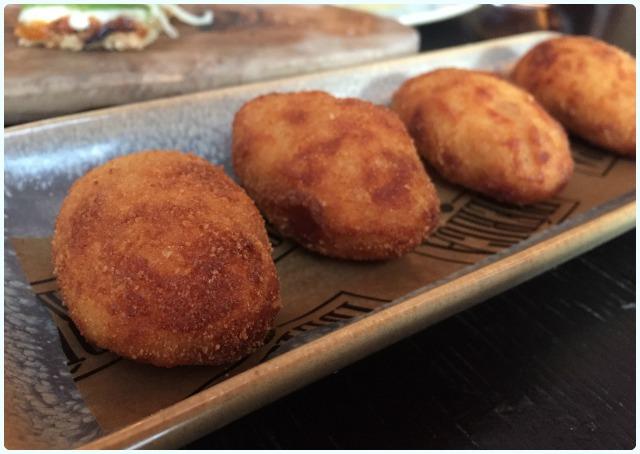 Iberica's Serrano ham croquettes