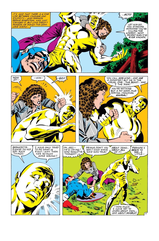 Captain America (1968) Issue #279 #195 - English 18