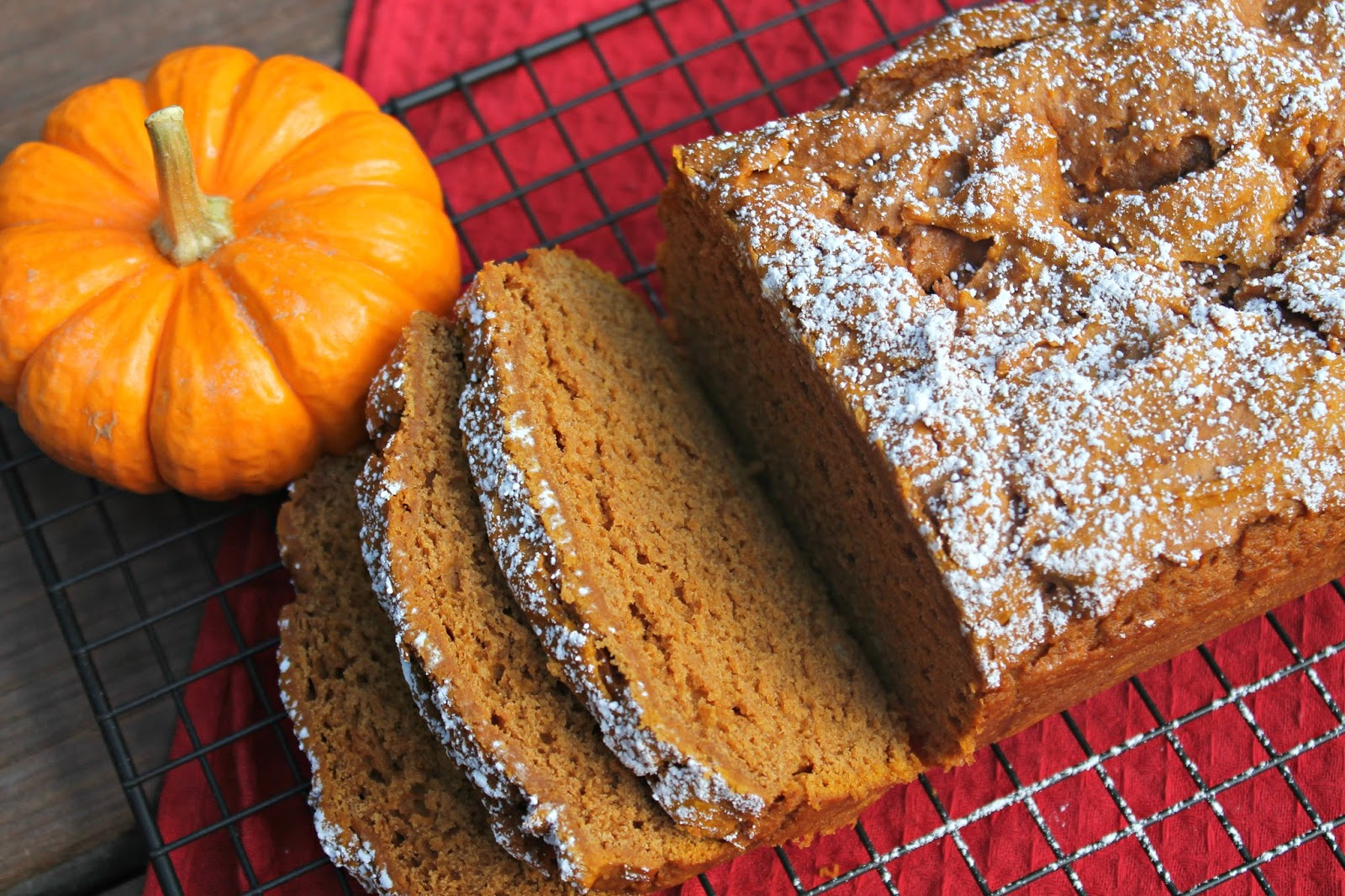 Carolina Charm: Easy Pumpkin Bread