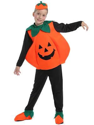 Græskar Halloween Kostume