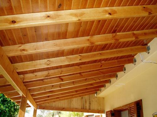 Construcciones el vik - Techos de maderas ...