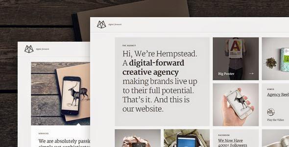 Premium Responsive WordPress Portfolio Theme