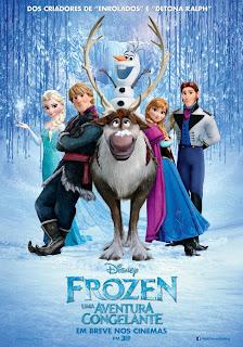 """Poster do filme """"Frozen - Uma Aventura Congelante"""""""