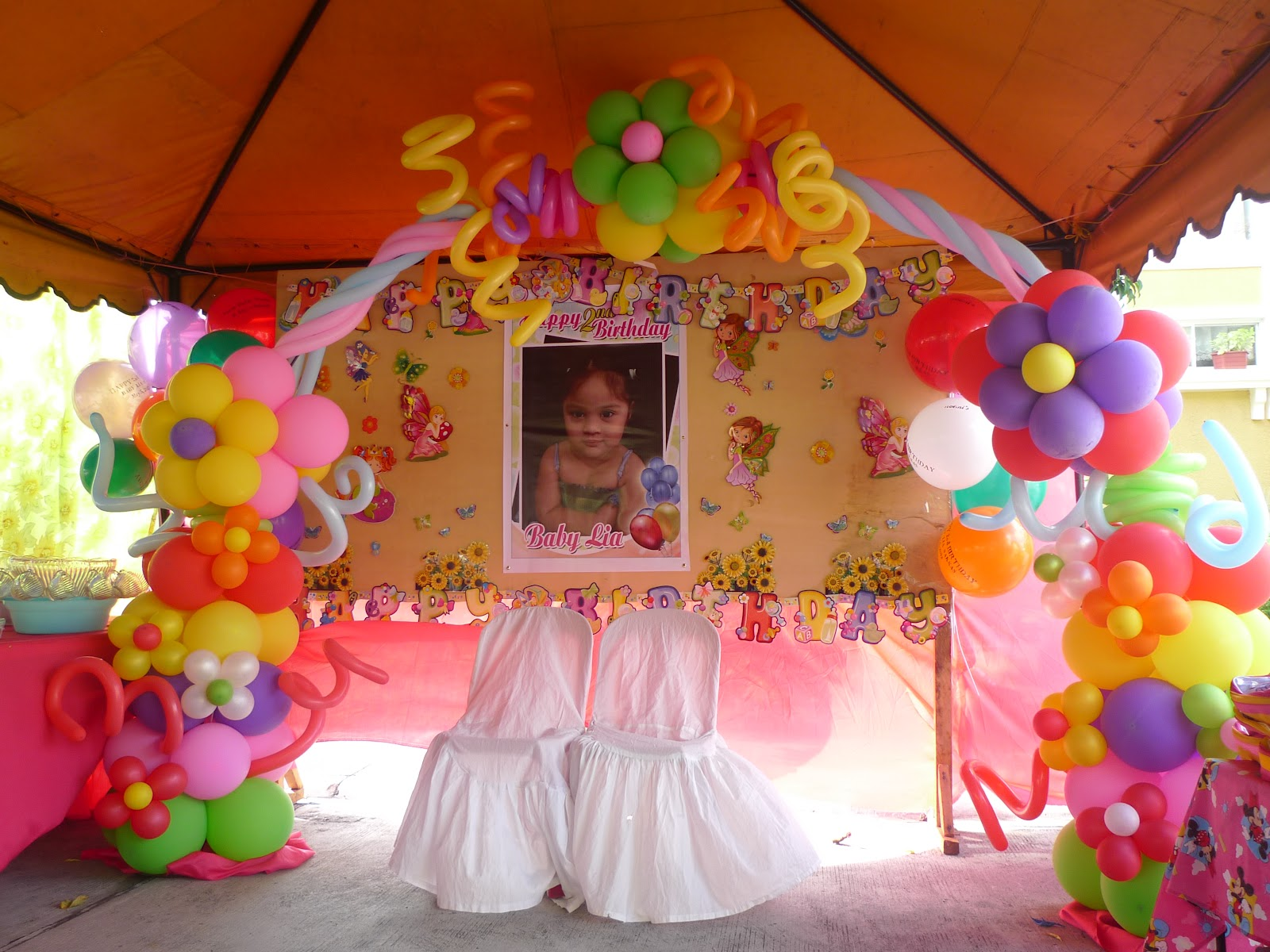 the gallery for decoraciones para quinceaneras con globos