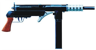 Blyskawica submachine gun