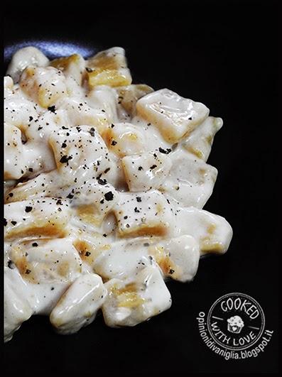 Ricetta Chicche di Zucca e Patate con crema di Bergader Bimby 2