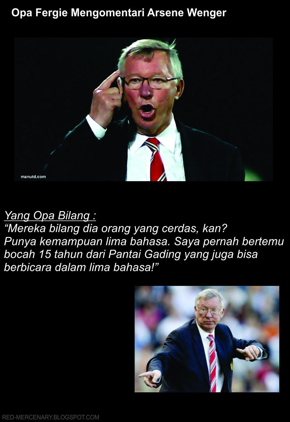 Komentar Opa: Arsene Wenger