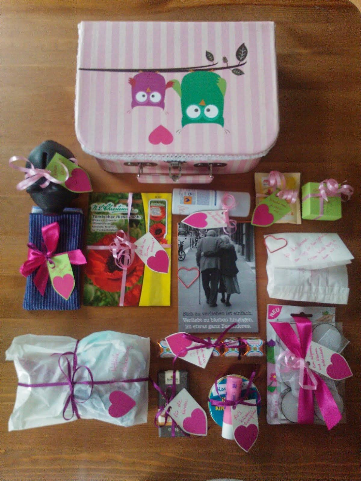 Mademoiselle Limettenfalter Erste Hilfe Koffer Fur Die Braut In Spe
