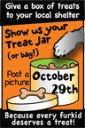 We Joined the Cybersides in Show Us Your Treat Jar!