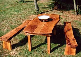 rustic garden furniture Furniture