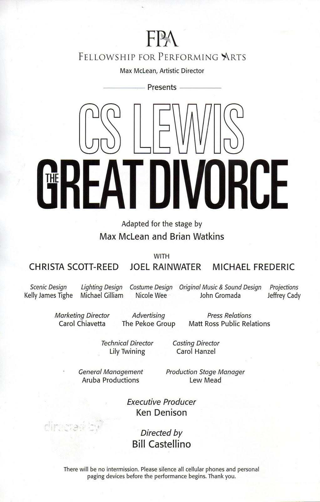 an analysis of heaven and hell in the great divorce a book by c s lewis In was in one of his fantasy works, the great divorce, that lewis  this is the diabolical epistemology of hell that lewis's  essays on c s lewis.