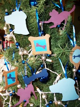 Diy dog themed christmas tree ornaments pets cute and docile