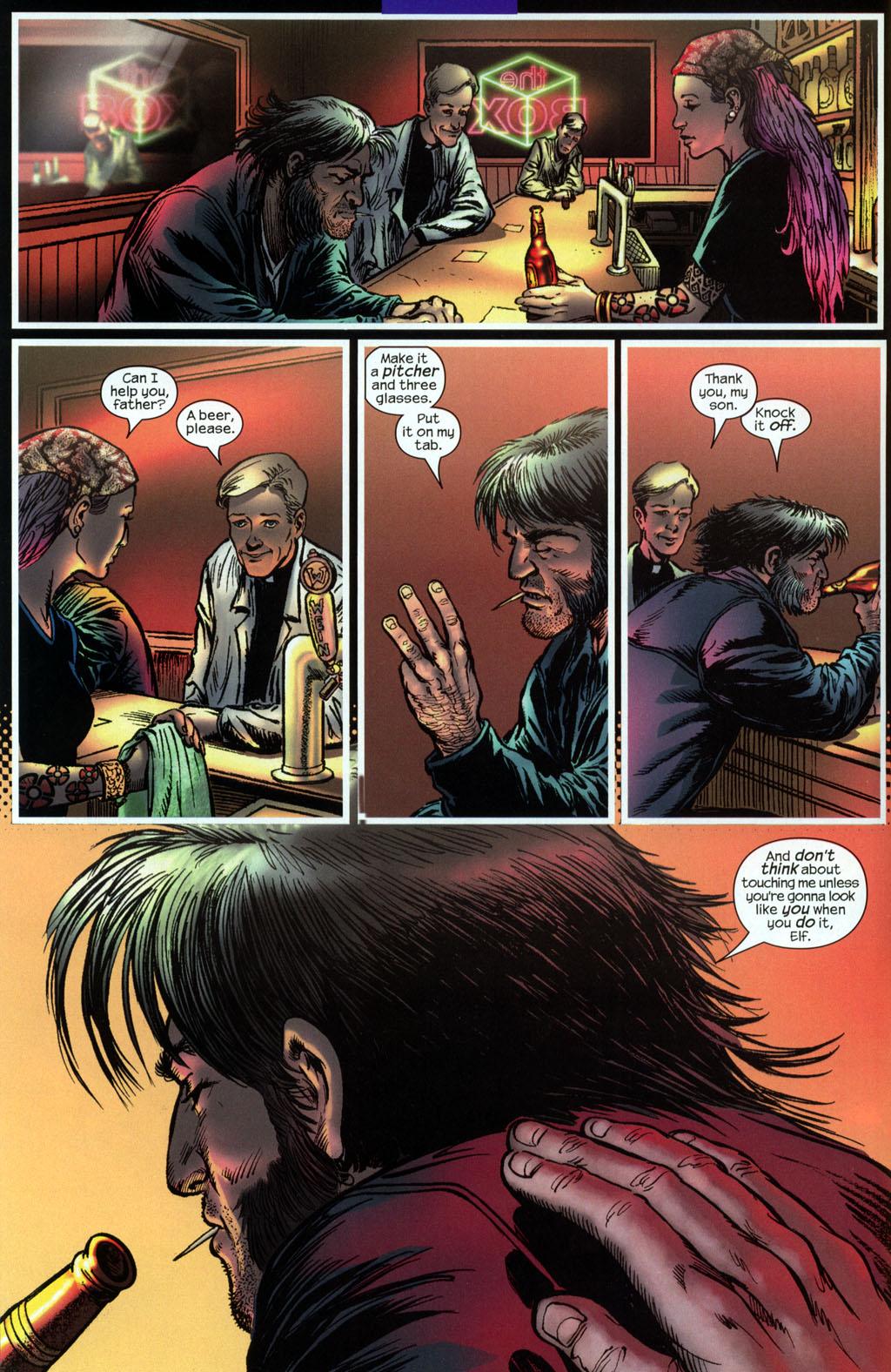 Read online Wolverine (2003) comic -  Issue #6 - 6