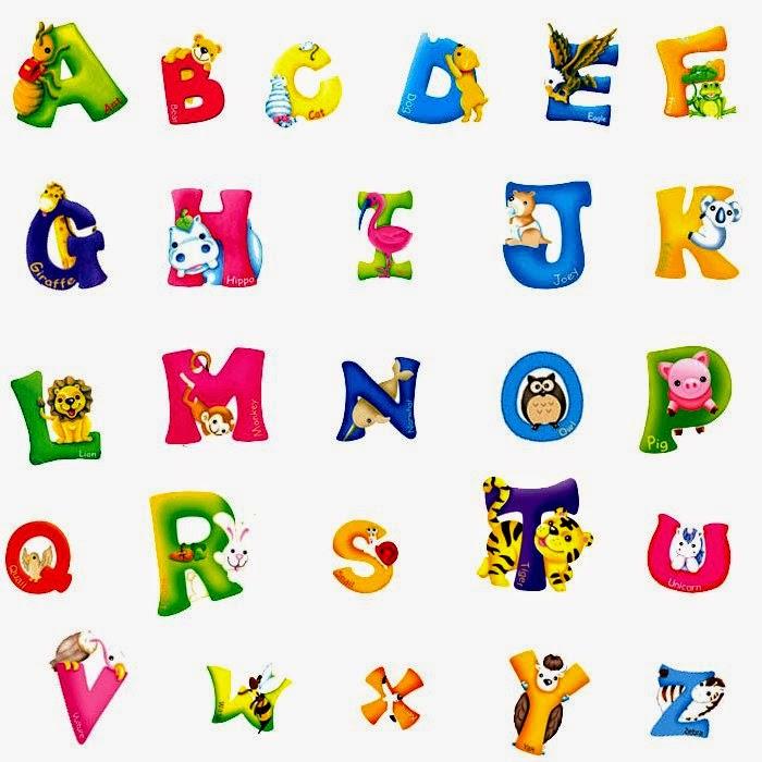 8 Letter Cartoon Characters : بطاقة الحروف الانجليزية مدونة تعلم