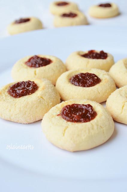 Biscoitos com Goiabada