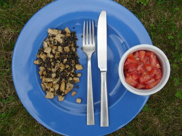 Sécotine fait sa maligne: Brouillade de tofu au black ...