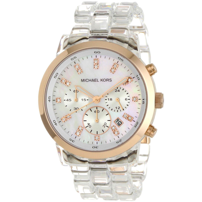 de3b92968db MICHAEL KORS - Relógio Silicone Transparente vários modelos - R  770