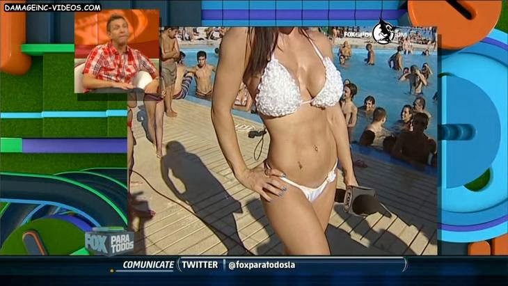 Big Brother hottie Jesica Hereñu in bikini HD video damageinc