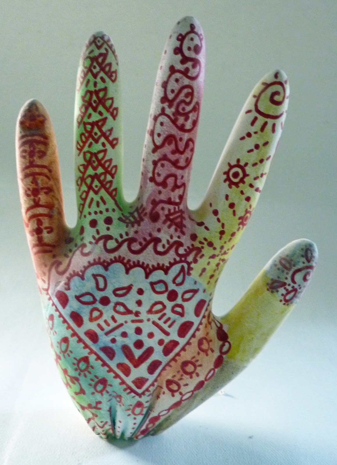 Mehndi Hands Art Lesson : Being cr iv henna hands