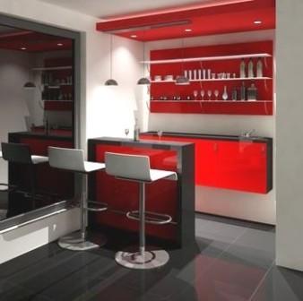 Dise o de bares interiores por paulina aguirre blog de for Modelos de muebles para bar
