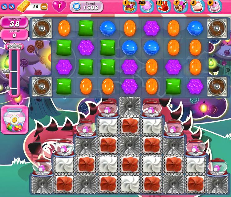 Candy Crush Saga 1508