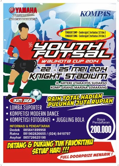 Lomba Suporter, Juggling Bola, Dance, Fotografi Semarang 2014