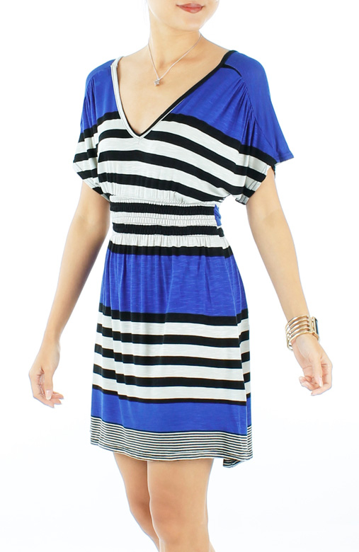 Jubilee Getaway Stripe Dress