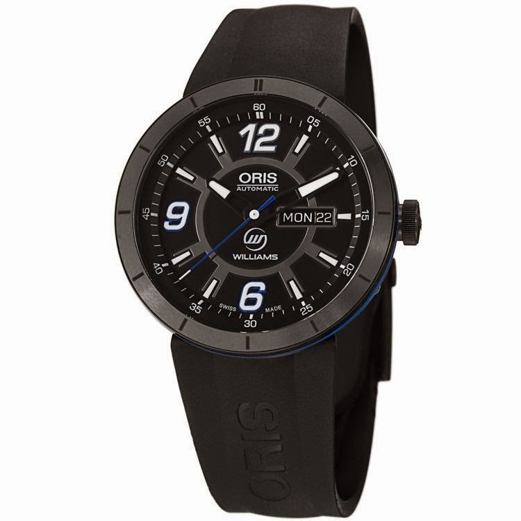ORIS TT1 WILLIAMS F1 TEAM DAY DATE 73576514765RS