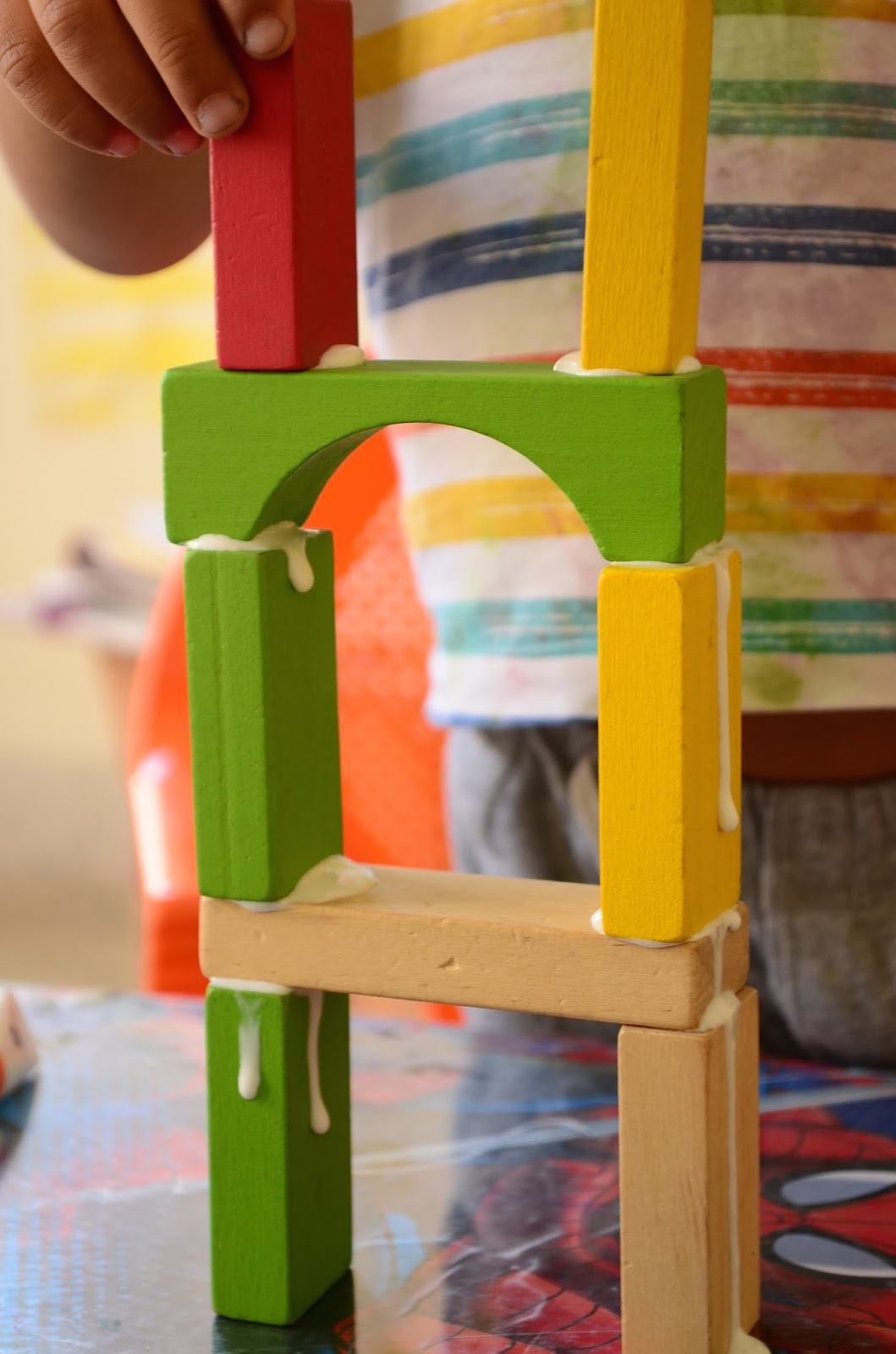 The Practical Mom: Block Play for Kids who love Art