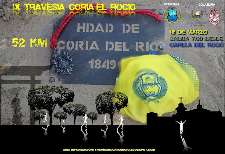 """IX TRAVESÍA """"DE CORIA AL ROCÍO"""""""