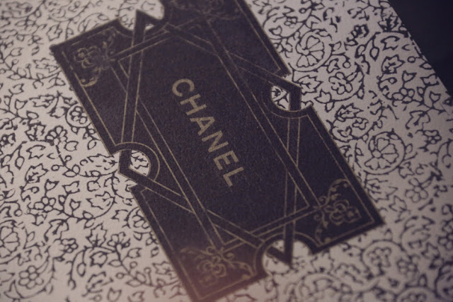 Chanel invitation